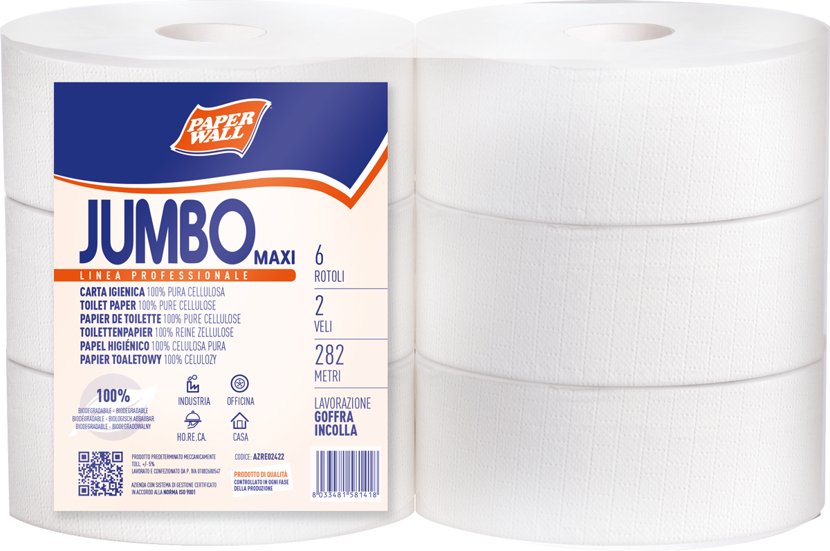 Toilet paper Jumbo Maxi