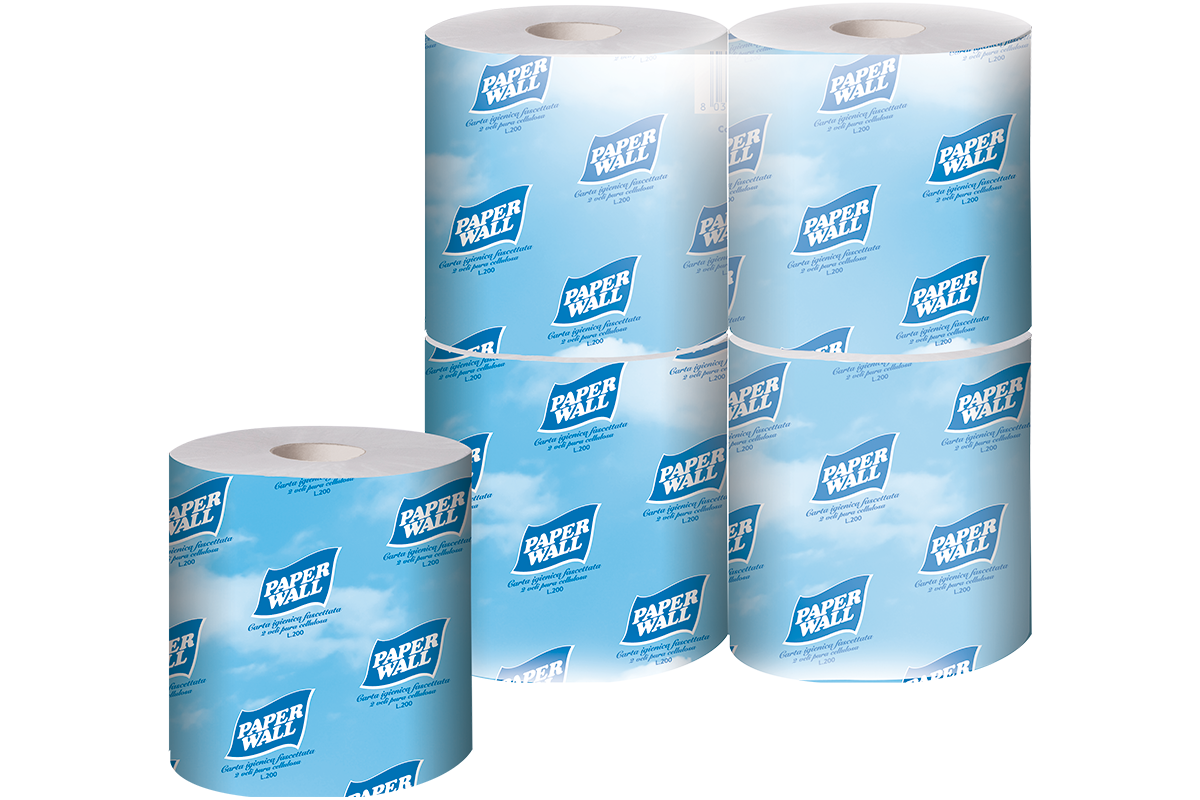 Individually Wrapped Toilet paper roll