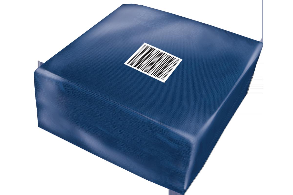 Smooth Blue Napkins
