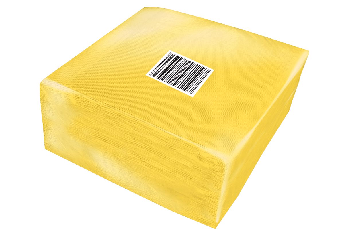 Yellow Smooth Napkins